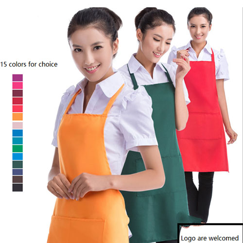 Apron with Stain Release and Pocket