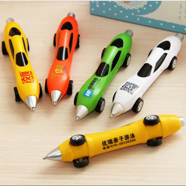 Dragster shaped pen